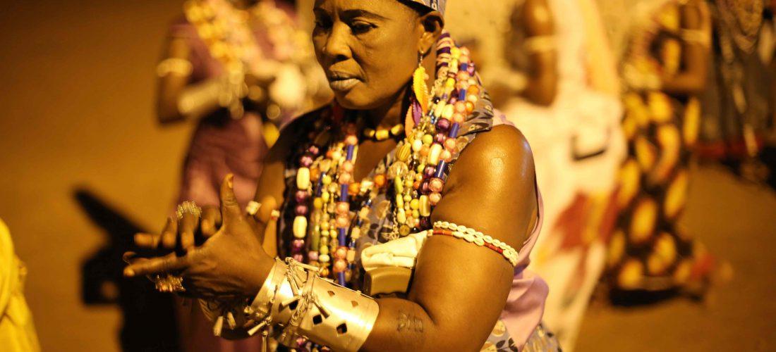 Cérémonie Nἑsuxwé, Avril 2015, Abomey, Bénin © Jennifer Lorin