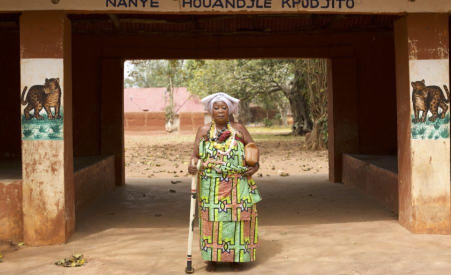 Nayé Houndjè Kpojito, Reine-mère, Abomey, Bénin, 2016 : © Jennifer Lorin