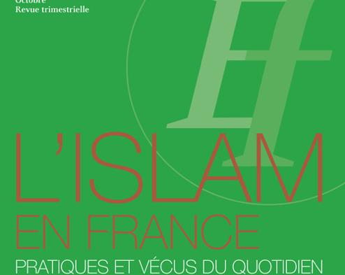 Ethnologie française : «L'islam en France. Pratiques et vécus du quotidien»