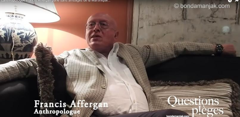 Francis Affergan : «Qu'est-ce qu'un martiniquais ?»