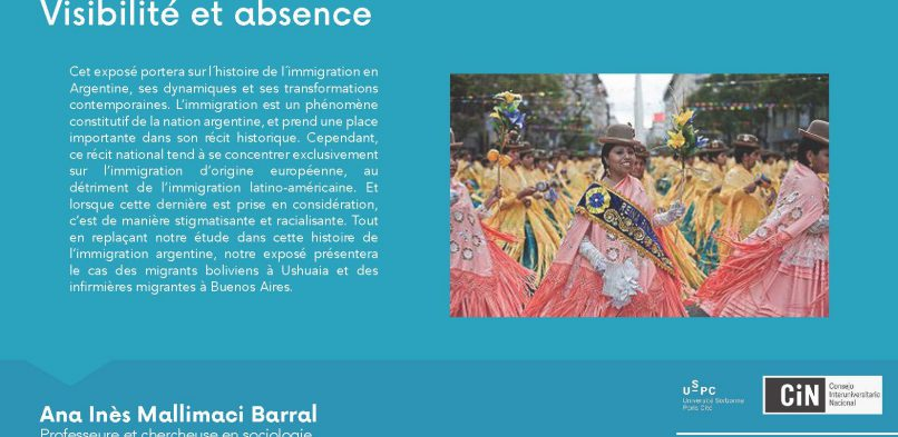 02/10 : «Migration en Argentine» – IDEX USPC-CIN