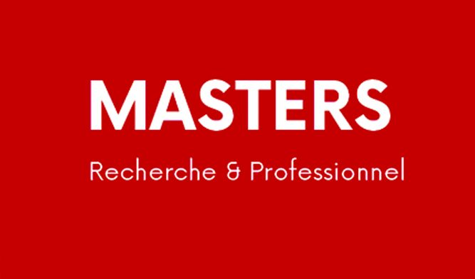 Masters – accueil