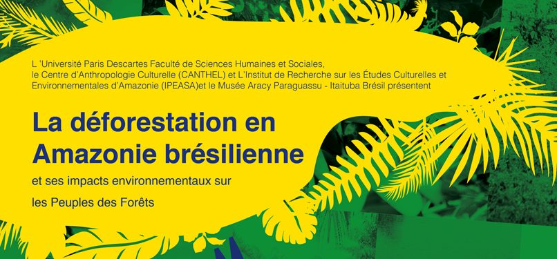 24/09/2019 [JOURNÉE D'ÉTUDE] La déforestation en Amazonie brésilienne